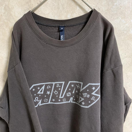 【SILAS】プリントロゴスウェット【M】【MADE IN E.E.C】【メンズ古着】【used】【vintage】