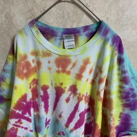 【GILDAN】タイダイTシャツ【XL】【メンズ古着】【used】【vintage】