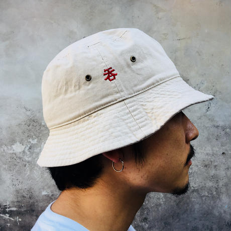 「呑」BAGUETTE  HAT/PUTTY×BURGUNDY