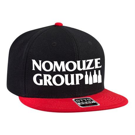 NOMOUZE GROUP CAP/BLACK×RED