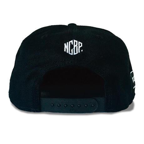 【NCBP】'MISHUKU' FLAT VISOR CAP