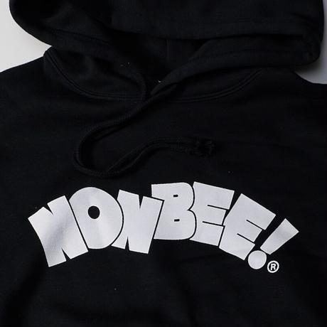 NONBEE LOGO HOODIE black/white