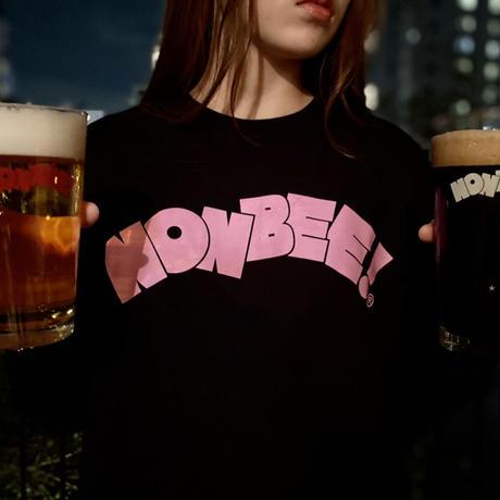 NONBEE LONG SLEEVE T-SHIRT  black/pink