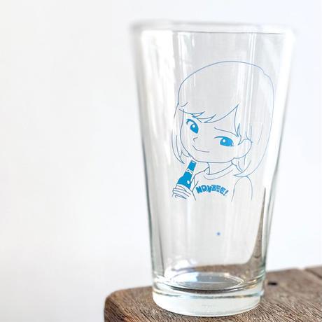 """""""SAIRI ITO × NONBEE!"""" ART GLASS  blue"""
