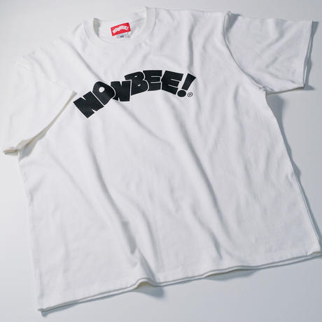 NONBEE LOGO T-SHIRT white/black
