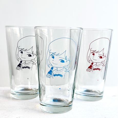 """""""SAIRI ITO × NONBEE!"""" ART GLASS  black"""
