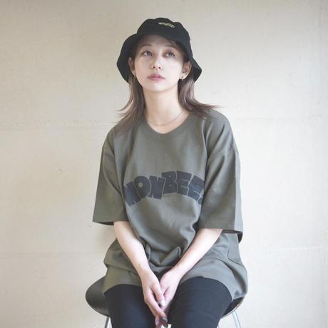 NONBEE HEAVY WEIGHT TEE    khaki/black