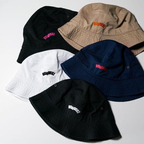 NONBEE BUCKET HAT black/pink