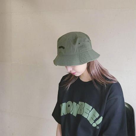 NONBEE BUCKET HAT khaki/black