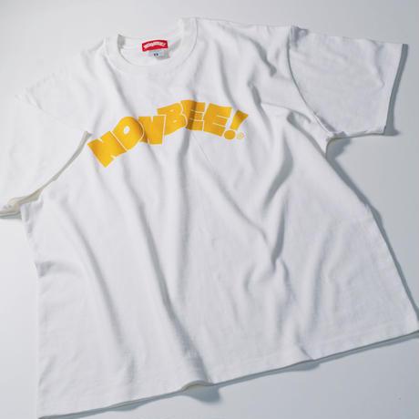 NONBEE LOGO T-SHIRT  white/yellow