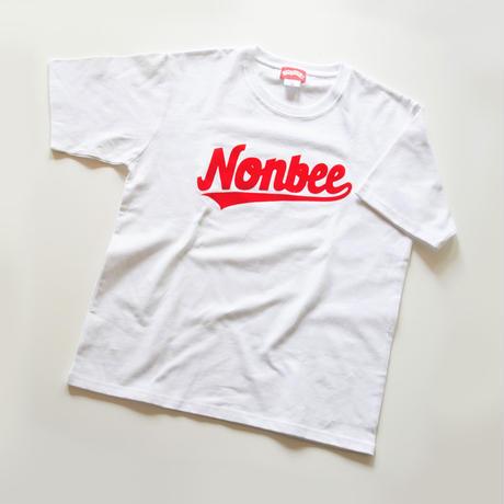 NONBEE TEAM LOGO TEE   white/red