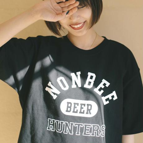 BEER HUNTERS TEE  black/white