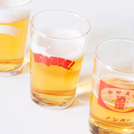 NONBEE BEER GLASS set (okaeri/red/white)