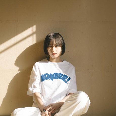 NONBEE LOGO T-SHIRT  white/blue