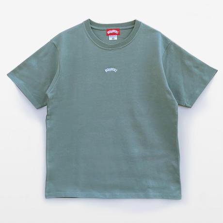 ONE POINT LOGO TEE 半袖 smoky green
