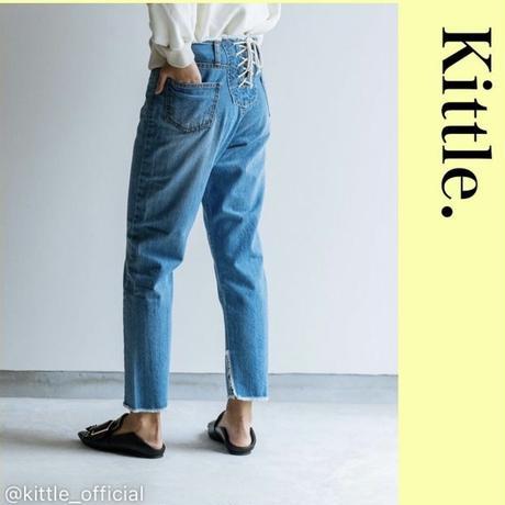 2021s  バック紐デニム kittle/キテル k201-64002-a