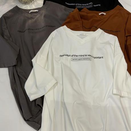 2021s ワッペンTシャツ821519~ayane/アヤン~