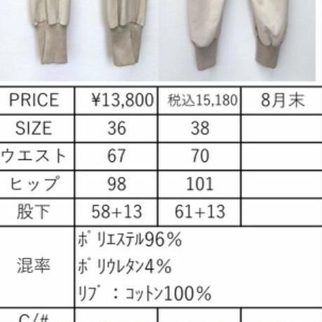 2021a  ボリトロジョガーパンツ 851704~ayane/アヤン~