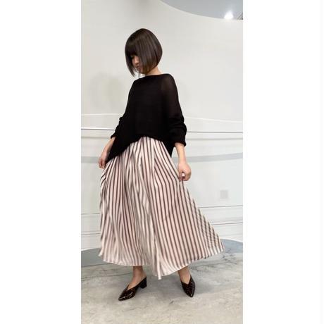 2021s  シフォンストライプスカート821520~ayane/アヤン~