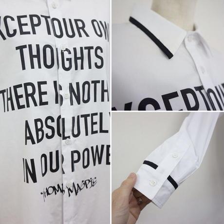 2021ss   thomas magpie logo shirt (2211103)