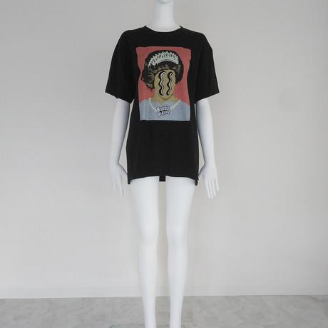 2021aw パロディTシャツ ブラック BO21-442T ~Boutique Ordinary~