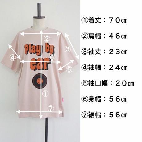 2021ss   thomas magpie big T-shirt(2211855)  white /pink ~ユニセックス~