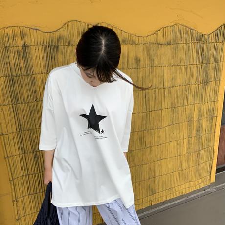 2021s  スタープリントTシャツ821505~ayane/アヤン~
