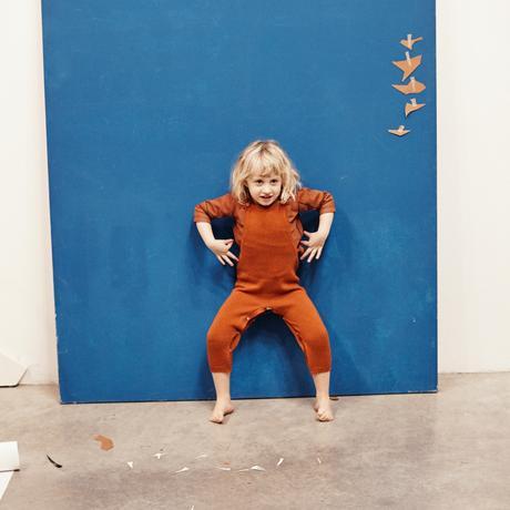 Le Petit Germain Sweat Check (orange)