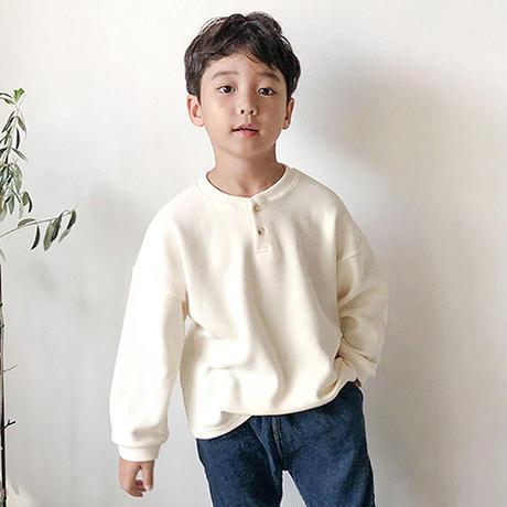 Jr. Henryneck knit-sweater (2color)