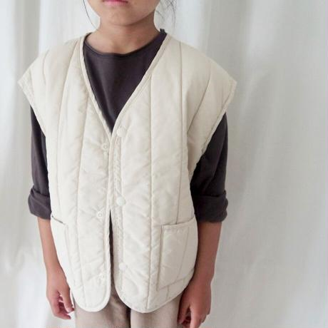 KIDS natural vest 〜140cm (2color)
