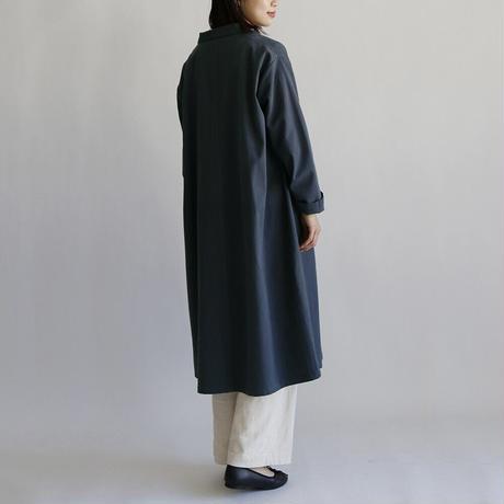 [オトナ]  Cotton twill calm coat (2color)