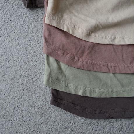 KIDS natural T-shirt 〜140cm (4color)