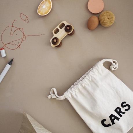 TELLKIDDO Fabric bag cars small