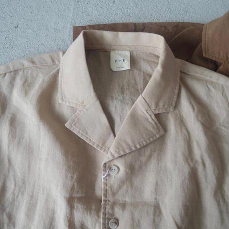 KIDS open collar shirt (2color)