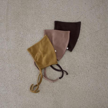 BABY cotton bonnet (3color)