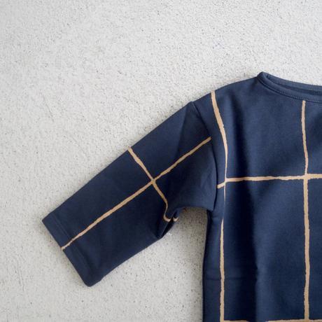 Le Petit Germain Sweat Check (indigo)
