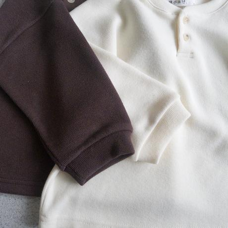 KIDS Henryneck knit-sweater (2color)