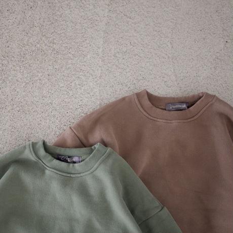KIDS layered sweat (2color)