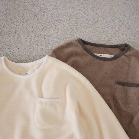 Jr.  fleece tops (2color)