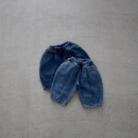 [一部size、colorのみ] KIDS  ankle denim pants (2color)