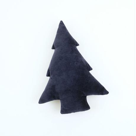 Velvet cushion quilting tree (3color)