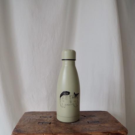 松尾ミユキ Cat Water Bottle (Fulffy)