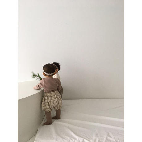 BABY basic bloomers (3color)