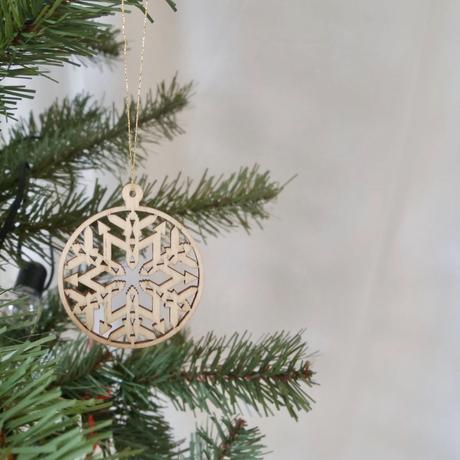 木製クリスマスオーナメント