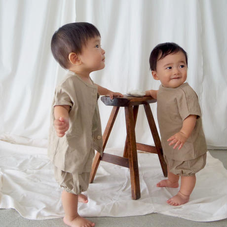 BABY 2way Top & bloomer SET (2color)
