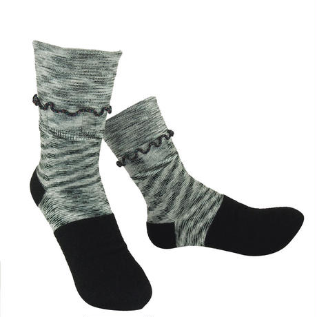 【nonnette】Charming Socks     NS236G-99 / black
