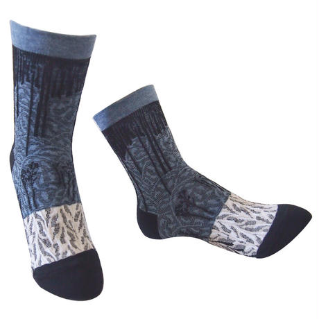【Socks】 Snow mountain  Socks    NS265Y-99 (¥2,400 +tax)