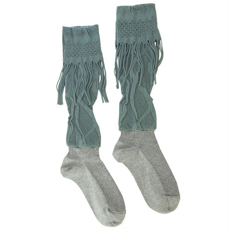 【High socks】Russell combination  fringe  High socks NH030R-92 (¥3,200 +tax)