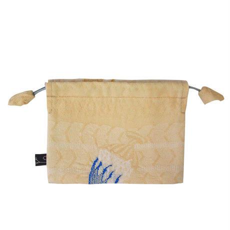 【巾着Pouch】Shaved ice  Pouch   HK017Y-10 (¥2,700 +tax)