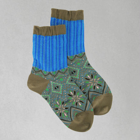 【nonnette】Fireworks  Socks NS198Y- 4 color